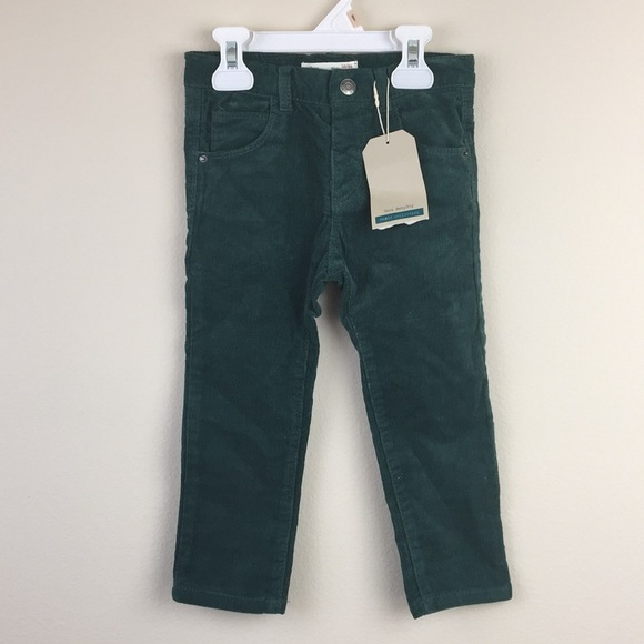 Size 12-18 Months Zara Baby Boy Corduroy Grey Trousers Bottoms Clothing, Shoes & Accessories